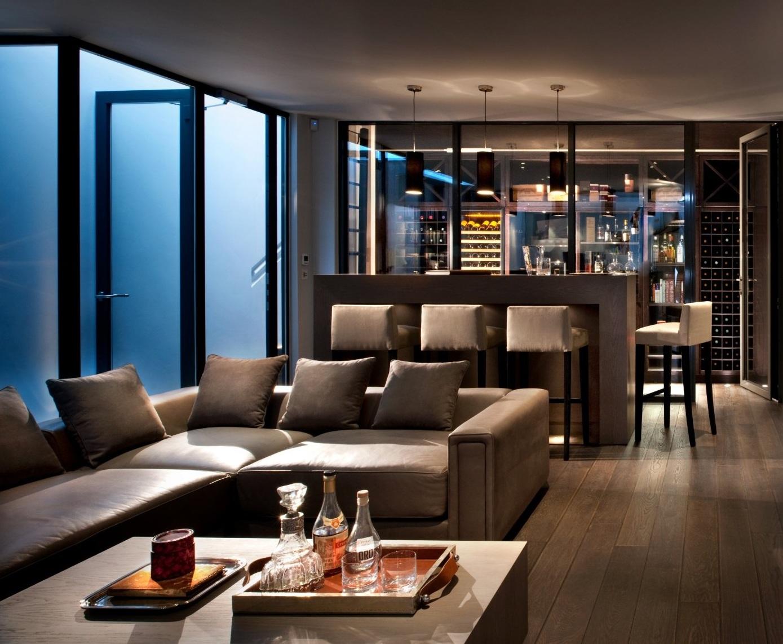 Living Room Bar Home Design Ideas 2021