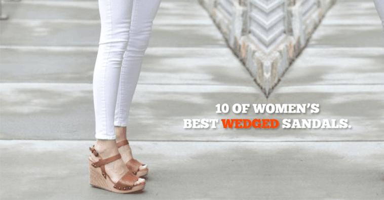10 Of Women's Best Wedged Sandals
