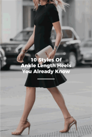 10 Styles Of Ankle Strap Heels You Already Know