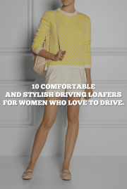 10 Comfortable And Stylish Driving Loafers For Women Who Love To Drive.