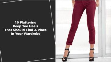 top 10 Flattering Peep Toe Heels