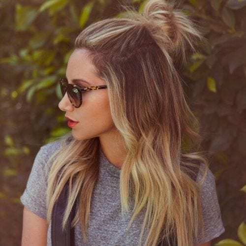 top knot ashley