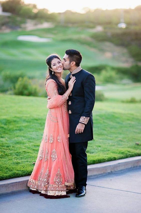 Anarkali for Pre Wedding photo shoot