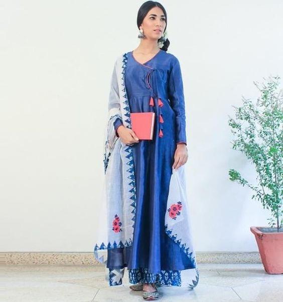 Angarkha Salwar Suit designs