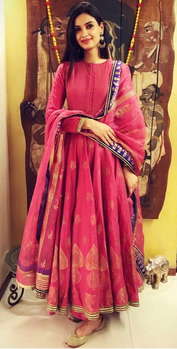 Diana anarkali dress designs in 2018-19