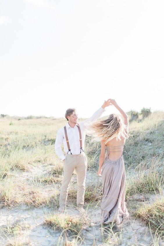 Pre wedding Photo Shoot in Maxi dress