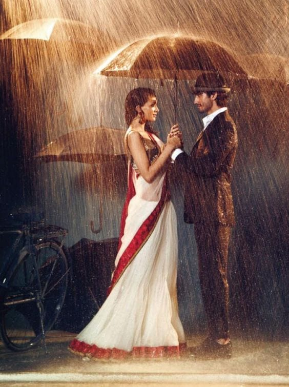 Pre wedding Photo Shoot in saree