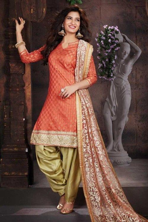 Salwar suit for Engagement