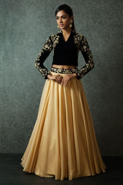 Skirt and Crop Top for haldi