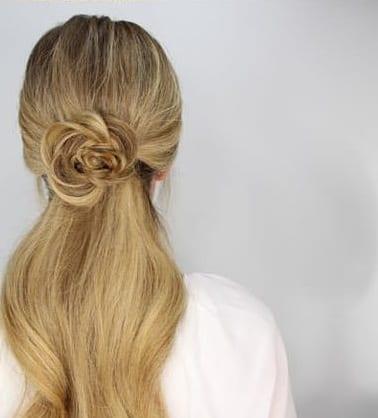 fishtail ponytail pretty