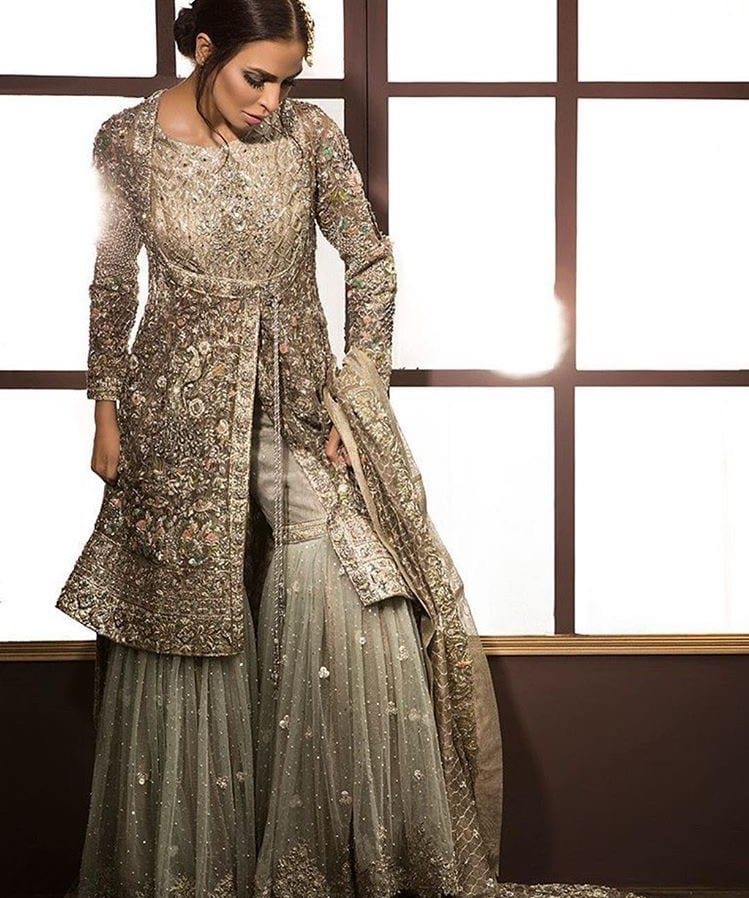 palazzo salwar suits for wedding