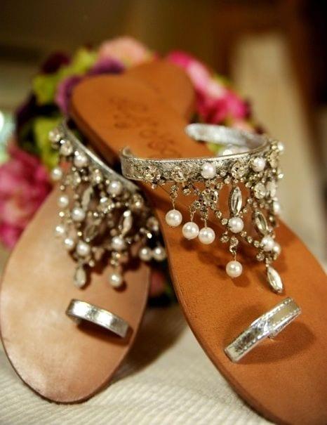 sandals for mehendi