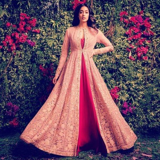 shyamal and bhumika lehenga with jacket design