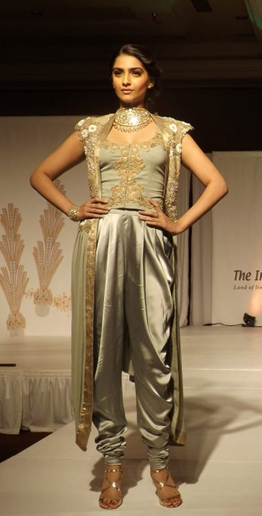 sonam kapoor dhoti pants outfit styles
