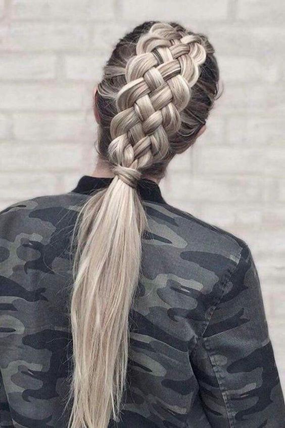 four strand braids