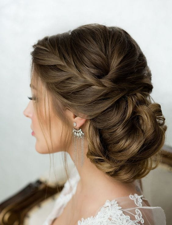 french braid Updos