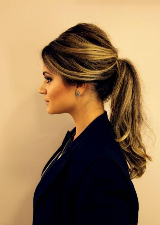 retro ponytails