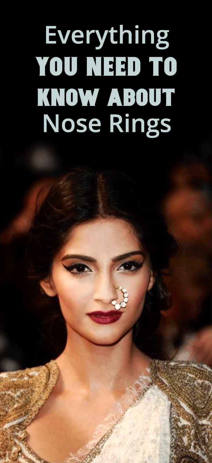 Everything You Need To Know About Nose Rings