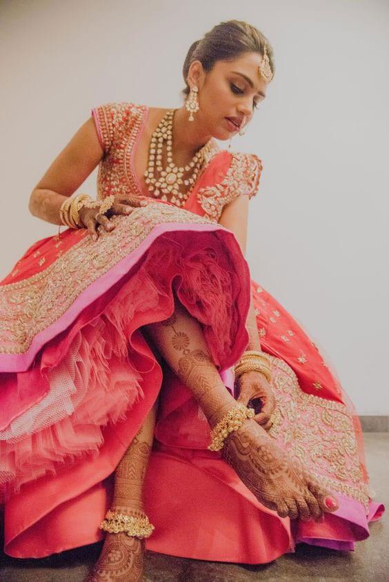 bridal payal