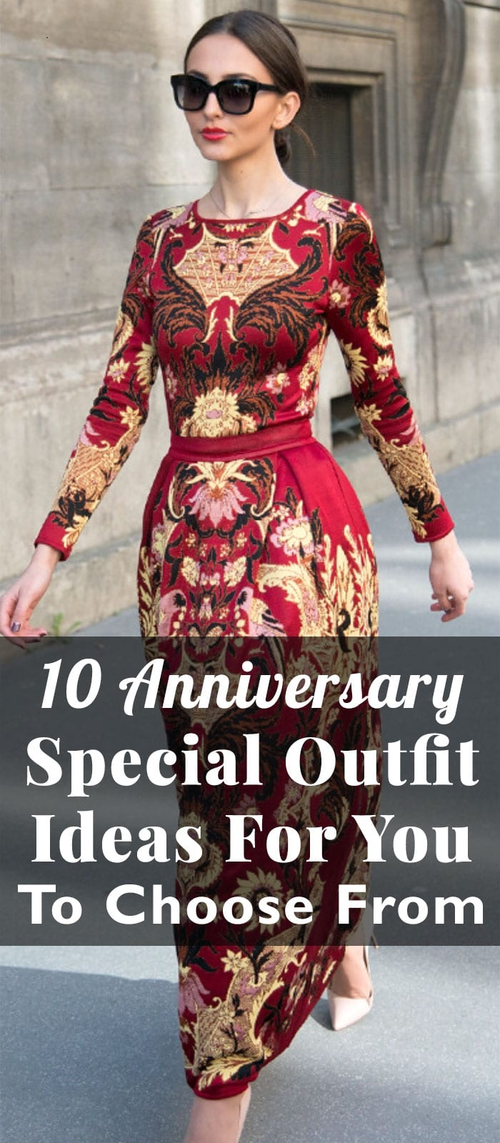 10 Anniversary Special Outfit Ideas For You To Choose From
