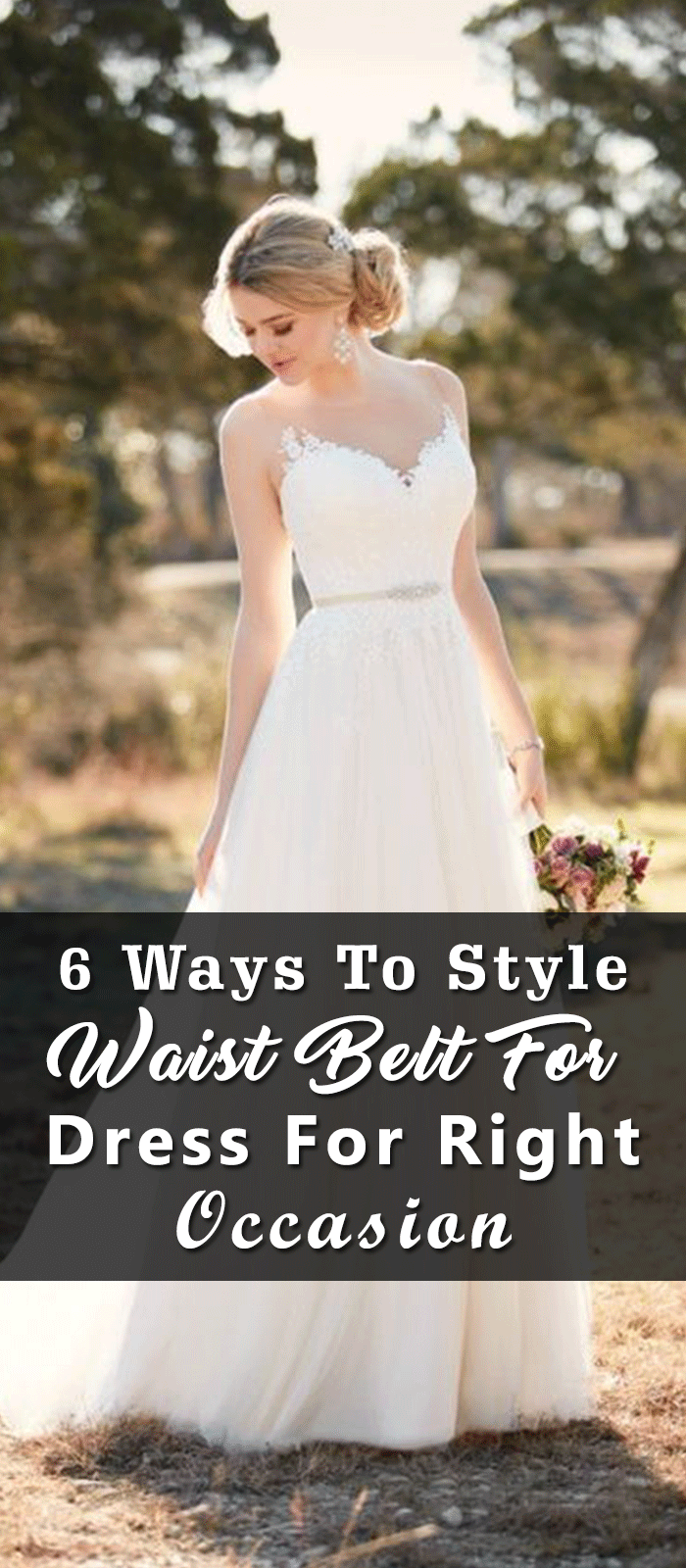 6 Ways To Style Waist Belt For Dress For Right Occasion