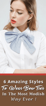 6 Amazing Styles To Wear Bow Ties In The Most Modish Way Ever!
