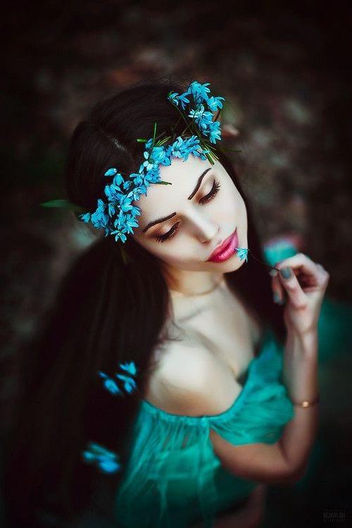 flower head wear