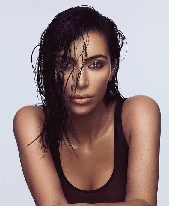wet hair looks