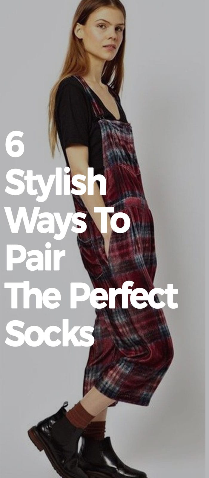 6 Stylish Ways To Pair The Perfect Socks!