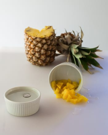 Pineapple Pulp Paste For Sun Tan Removal