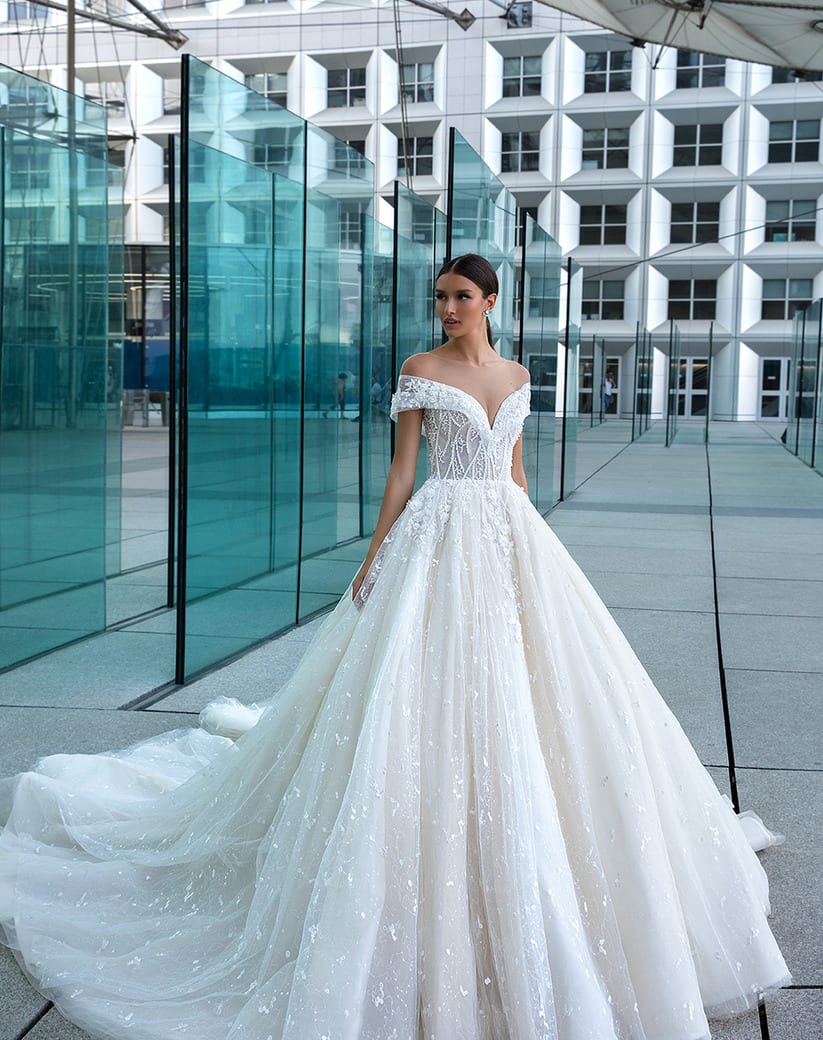 Beautiful Bridal Gown 2019