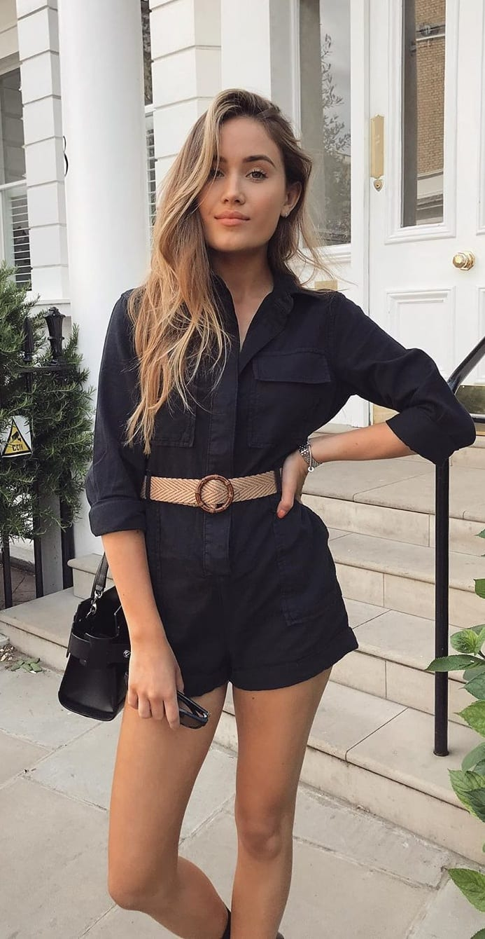 Cute-Black-Playsuit-Outfit