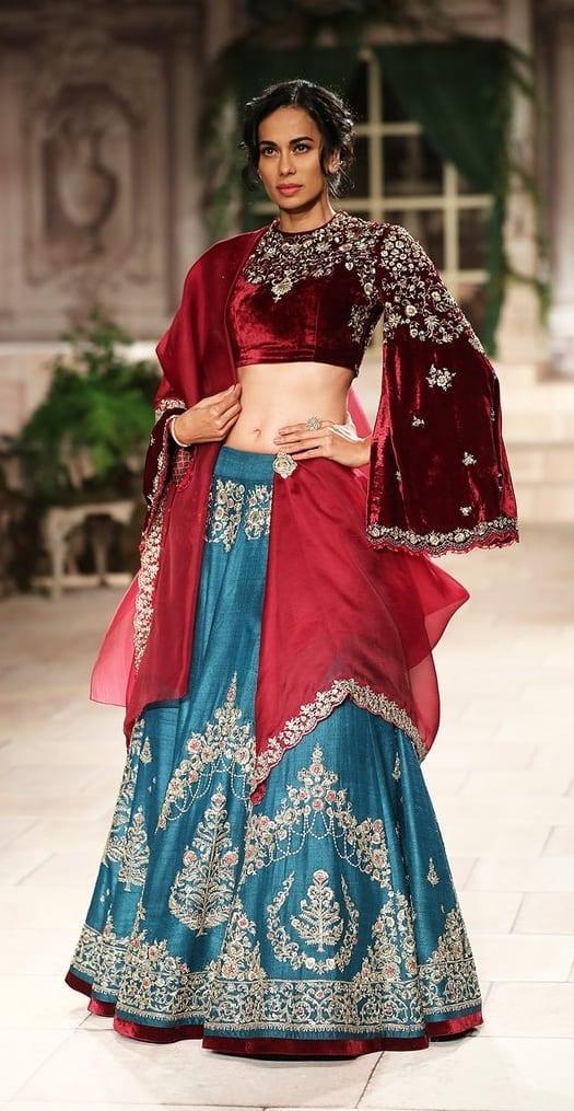 Designer Bridal Lehenga Choli Outfit