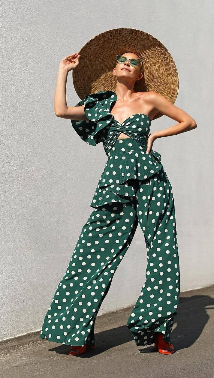 Sexy Polka Dot Outfit for Summer 2020