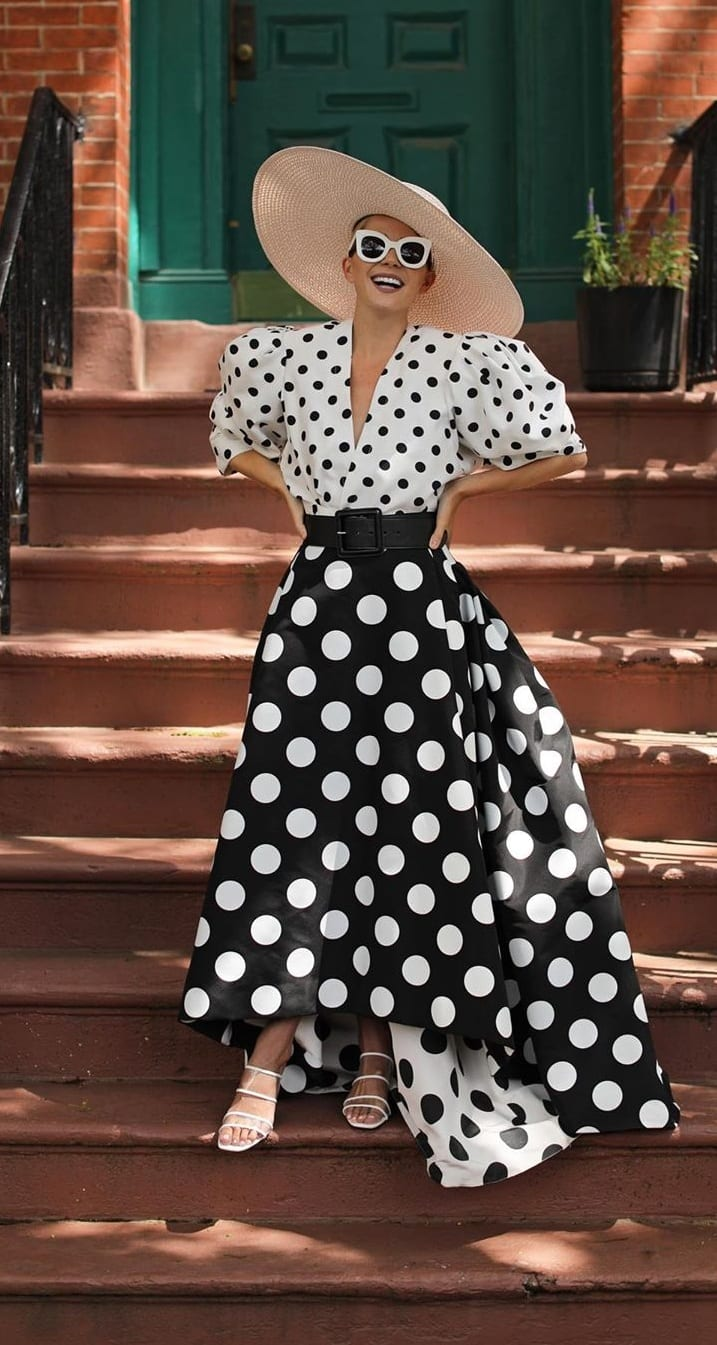 Summer Outfit Ideas 2020- Polka Dot Season