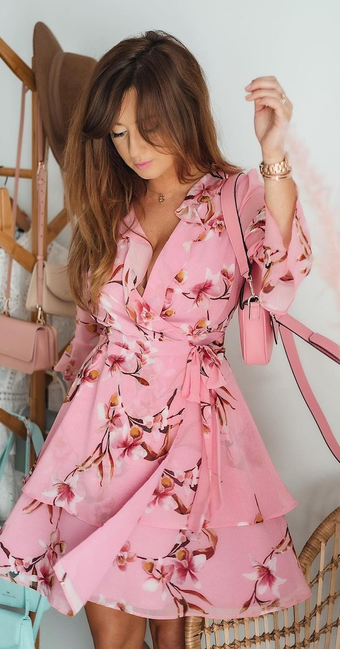 Cute and Pretty Floral Dresses