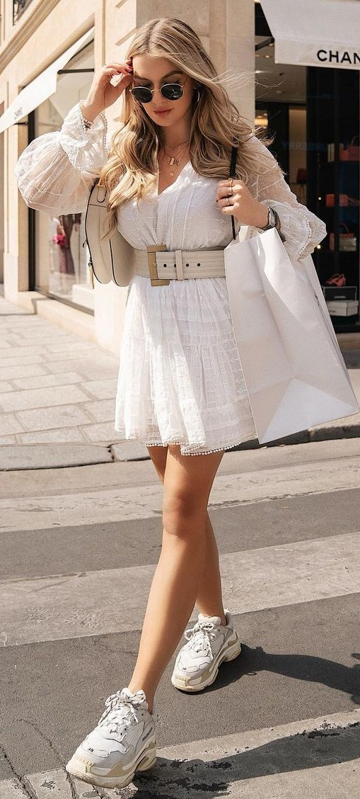 10 Chic White Dresses To Try This Summer