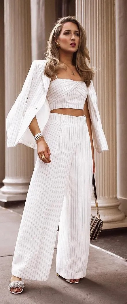 10 Chic White Outfit Ideas 2021