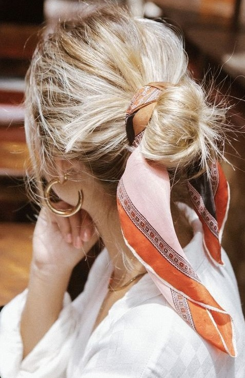 10 Best Ways To Style A Bandana in Hair
