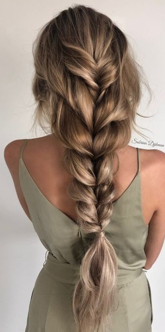 12 Trendy and Pretty Braid Hairstyles for Long Hair