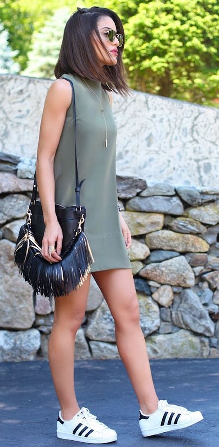 Military Green Outfit for Summers