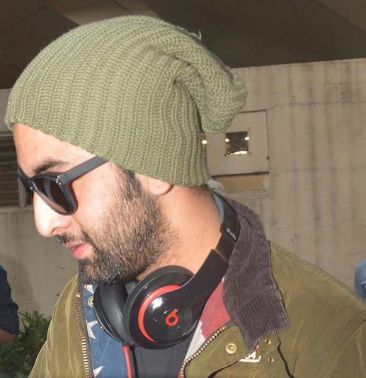 ranbir kapoor with cap