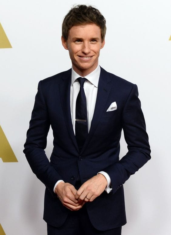 Eddie Redmayne suit look