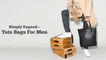 Simply Expand – Tote Bags For Men