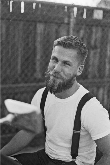 beard photography black & white