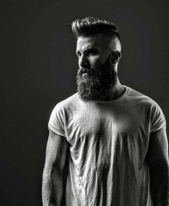 beard style for men photoshoot