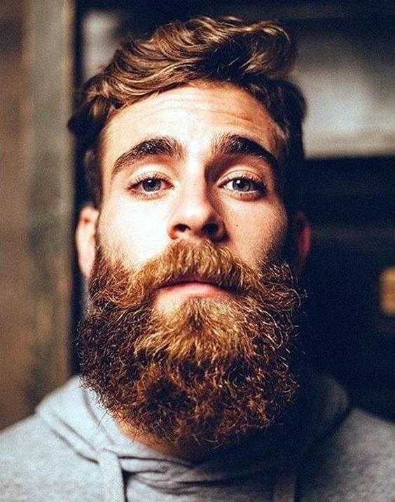 ginger beard for men