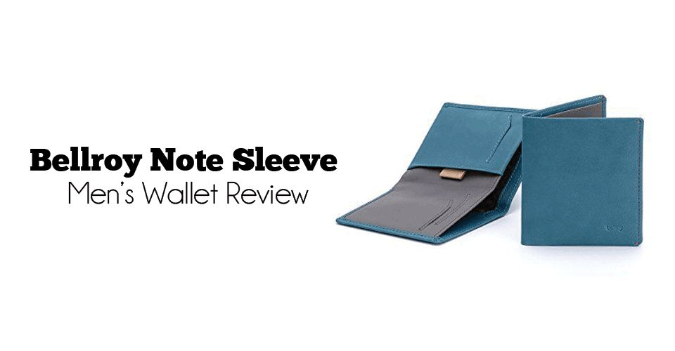 Bellroy Note Sleeve Men's Wallet Review