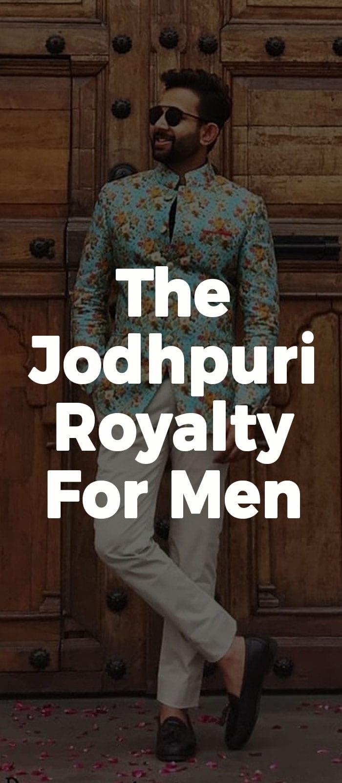 The Jodhpuri Royalty For Men