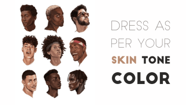 dress as per your skin tone
